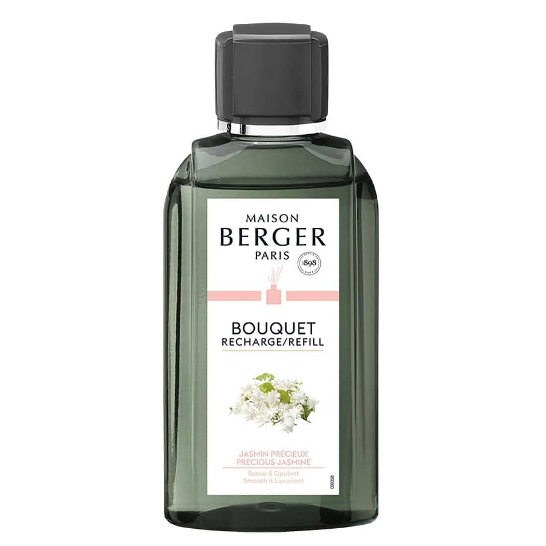 Photo de Recharge Bouquet Parfumé Maison Berger Jasmin Précieux 200 ml