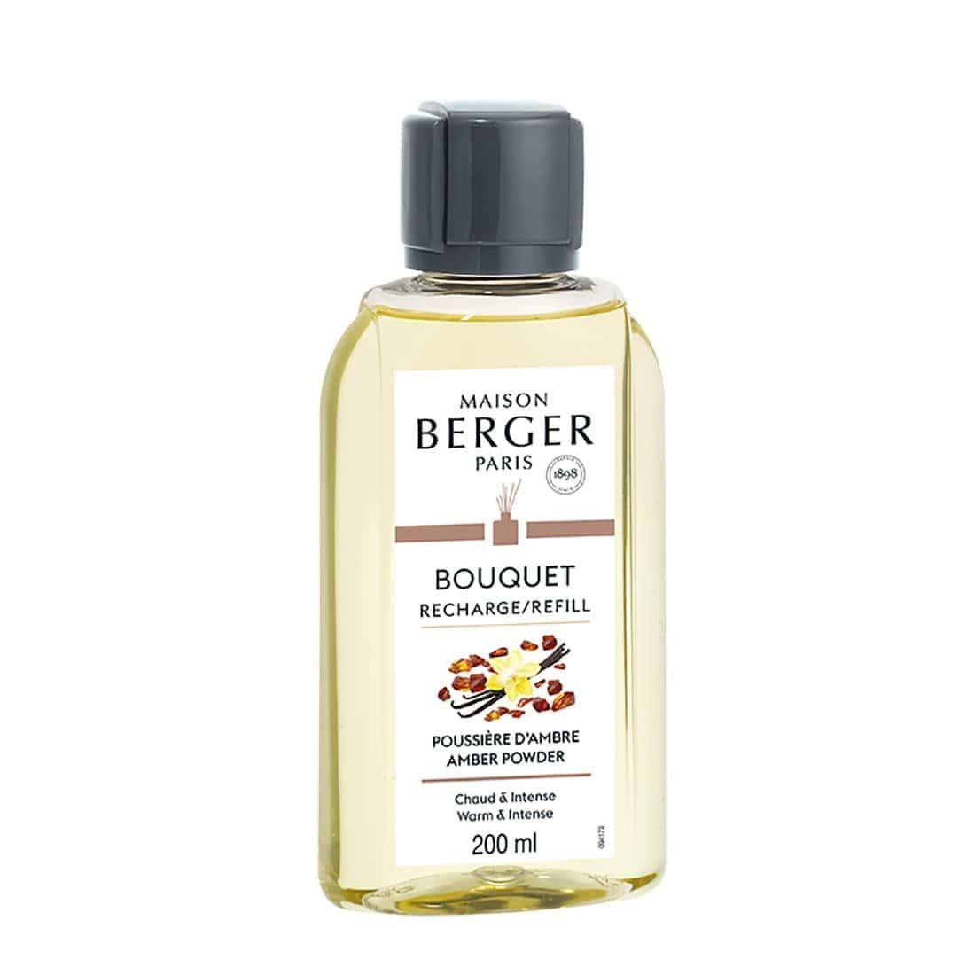 Photo de Recharge Bouquet Parfumé Maison Berger Poussière d'Ambre 200 ml