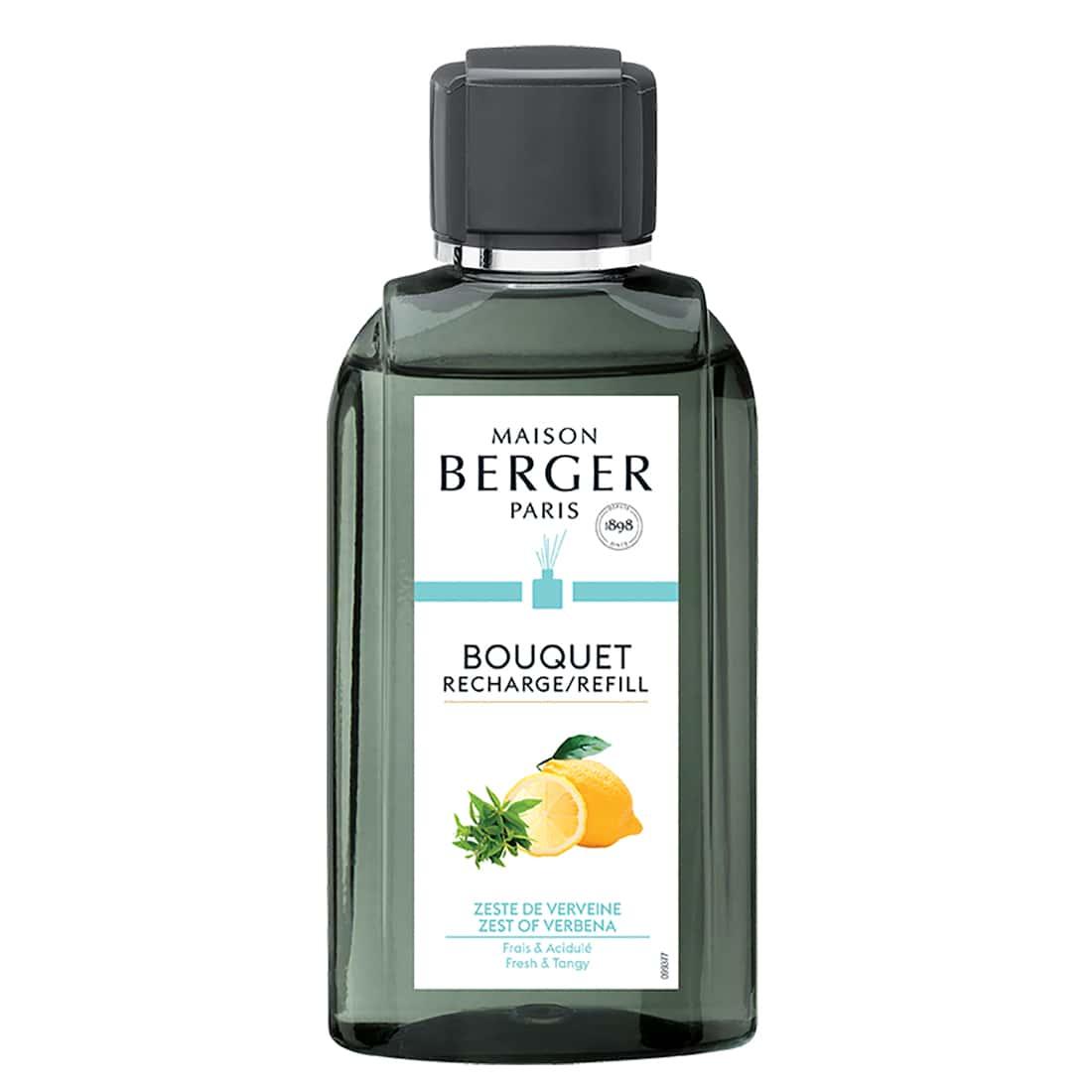 Photo de Recharge Bouquet Parfumé Maison Berger Zeste de Verveine 200 ml