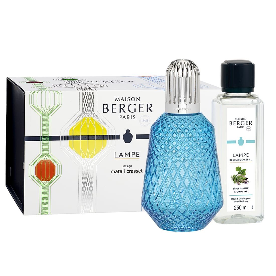 Photo de Coffret Lampe Berger Matali Crasset Bleue