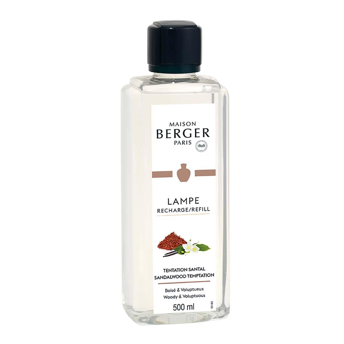 Photo de Parfum maison Lampe Berger Tentation Santal 500 ml