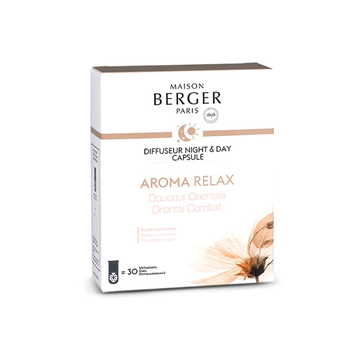 Photo de Recharge Diffuseur Electrique Maison Berger Night & Day Aroma Relax