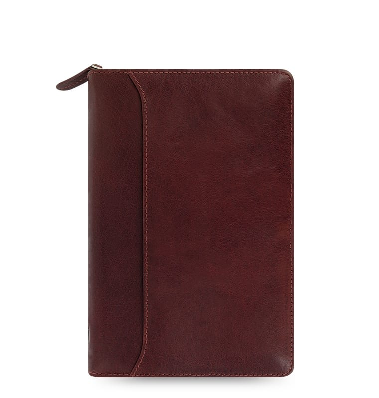 Photo de Agenda Filofax Personal Lockwood Garnet