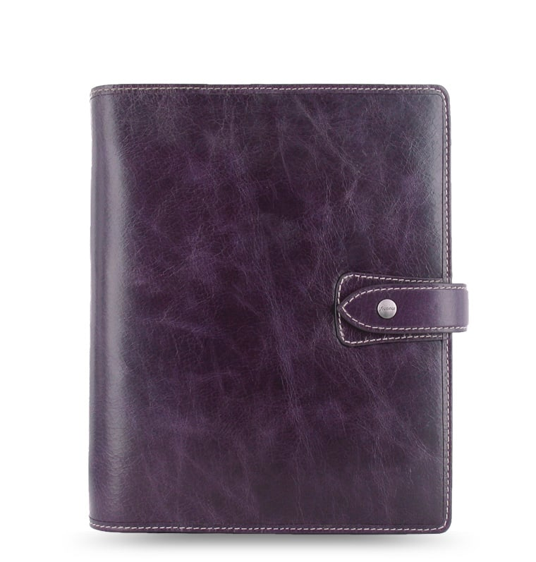 Photo de Agenda Filofax A5 Malden Violet