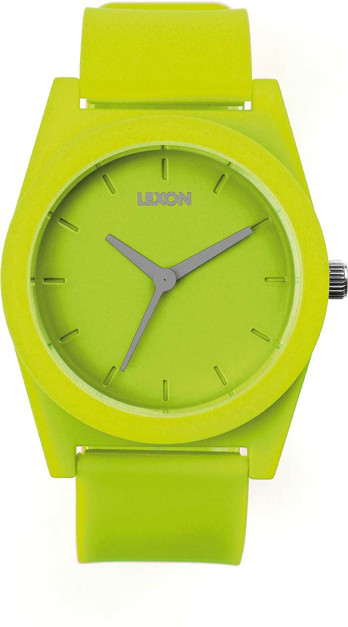 Photo de La Bonne Affaire - Montre Lexon Spring Large Vert Anis
