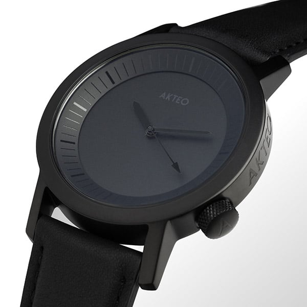 Photo de Montre Akteo All Black 42