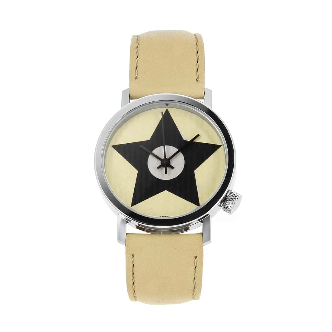 Photo de Montre Akteo Vintage Star beige
