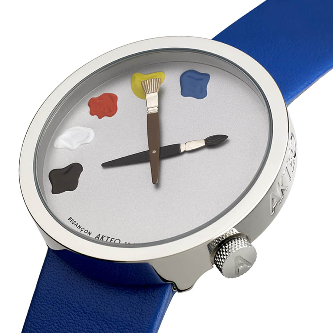 Photo de Montre Akteo Art Peinture 01 48 cm