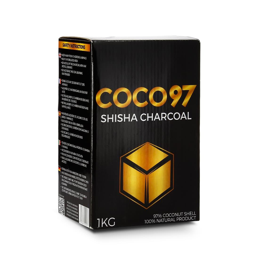 Photo de Charbon chicha Coco 97 1 kg