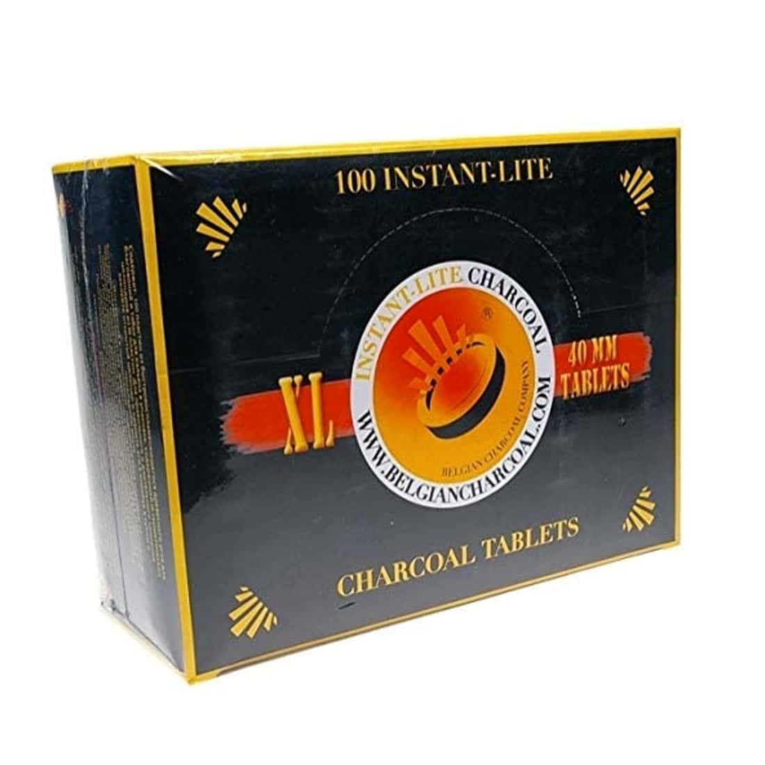 Photo de Charbon à narguilé et encens XL x 10