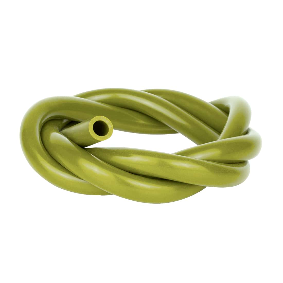 Photo de Tuyau Chicha Silicone 150 cm Olive