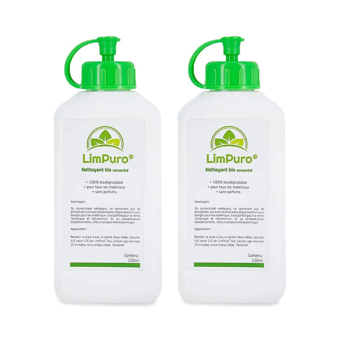 Photo de Liquide de nettoyage Bio Limpuro 250 ml x2