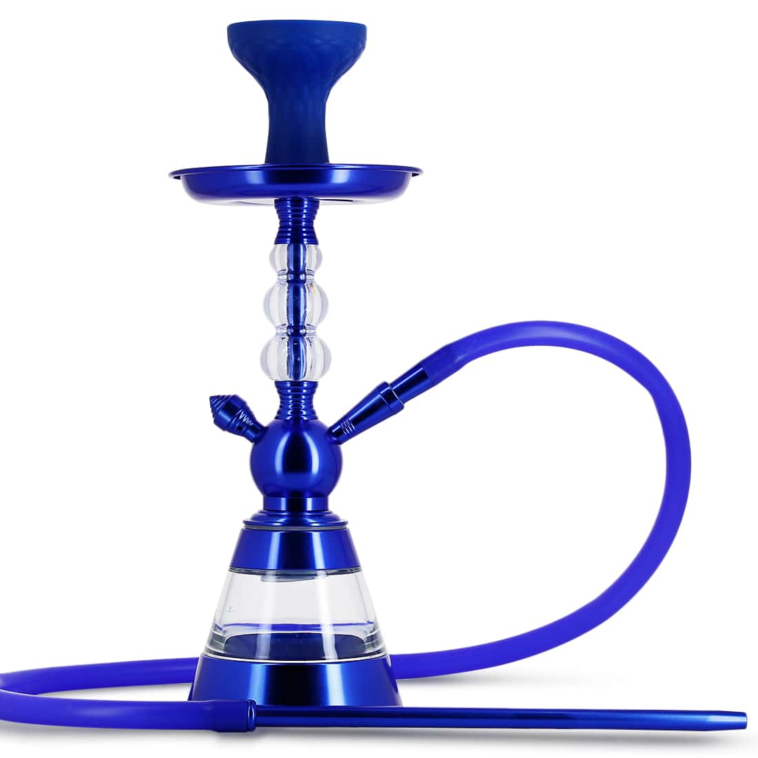 Photo de Chicha alu et Foyer Silicone Bleu Roi