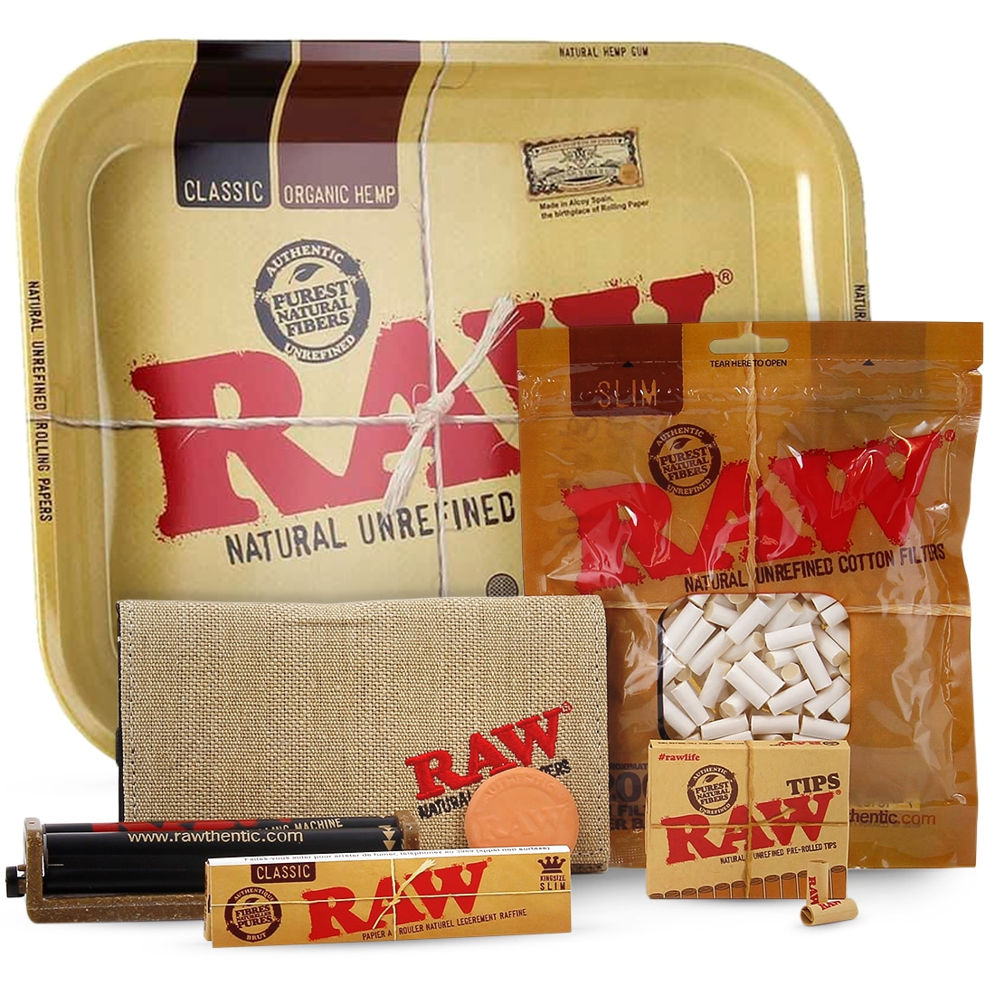 Photo de Pack Fumeur Raw Slim