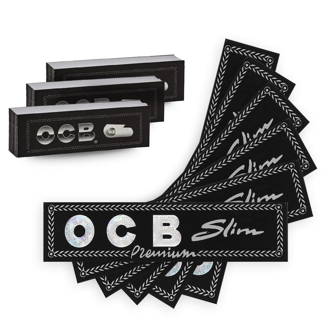 Photo de Pack OCB Feuilles Slim Filtres Carton