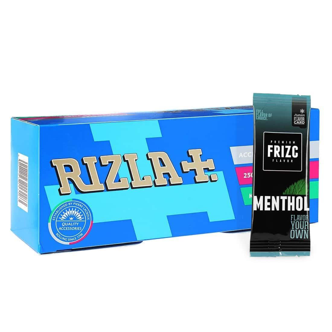Photo de Pack Tubes Rizla+ Carte Frizc Menthol