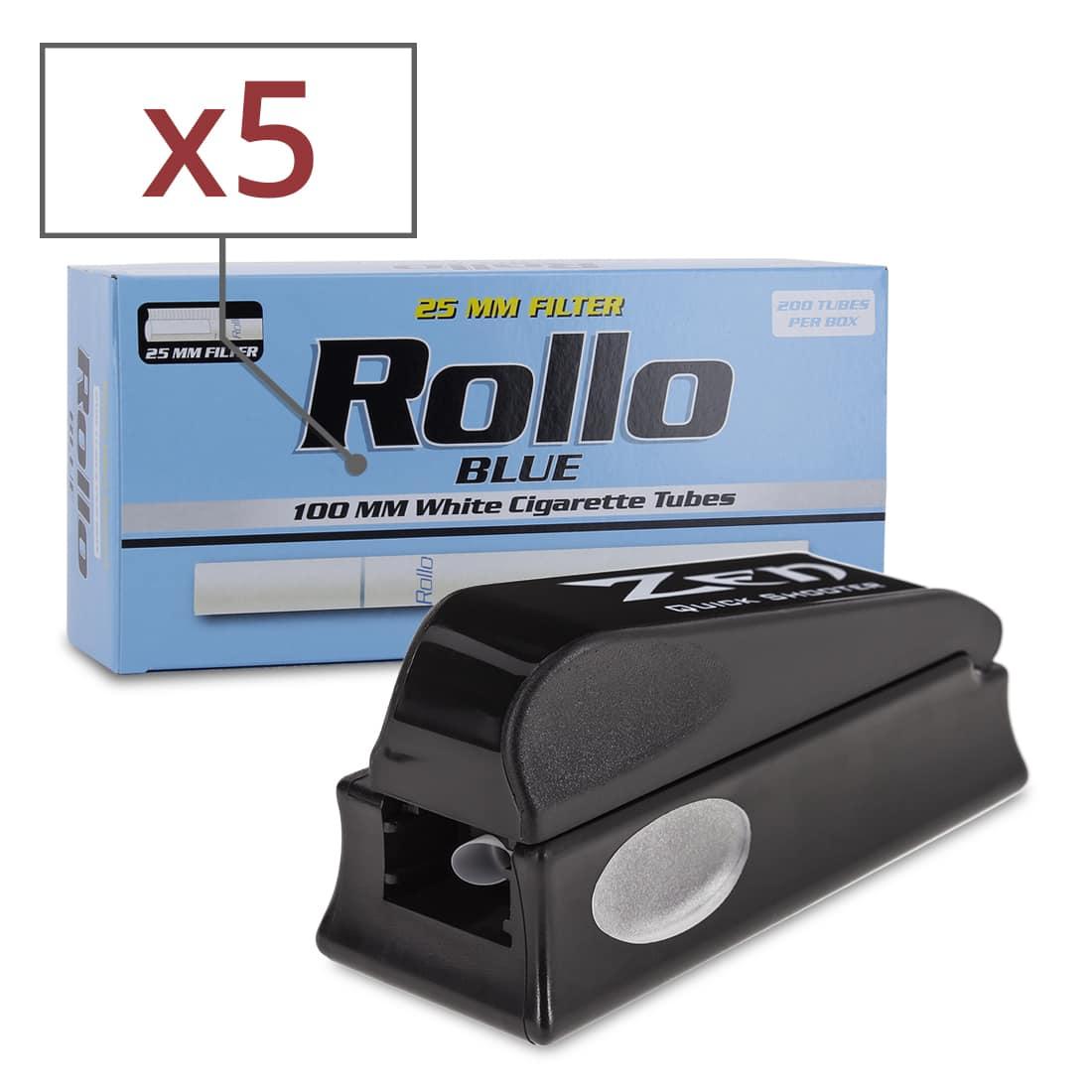 Photo de Pack Tubeuse + Tubes Rollo Blue 100's
