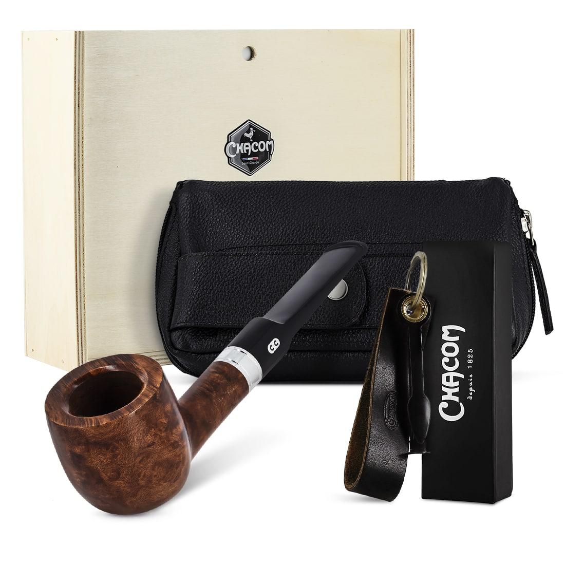 Photo de Coffret Pipe Chacom Premium Set Droit Complet