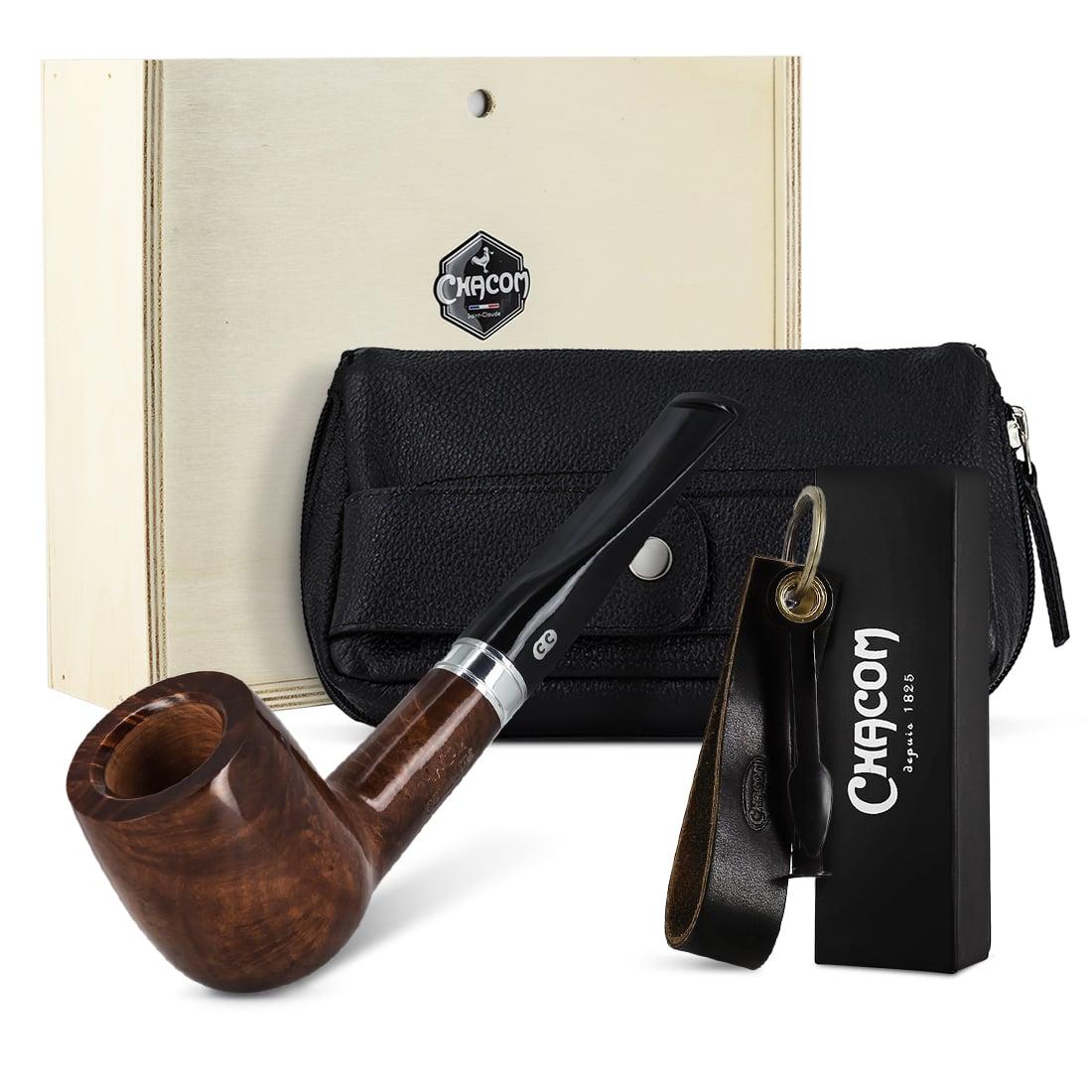 Photo de Coffret Pipe Chacom Premium Set Droit Classique Complet