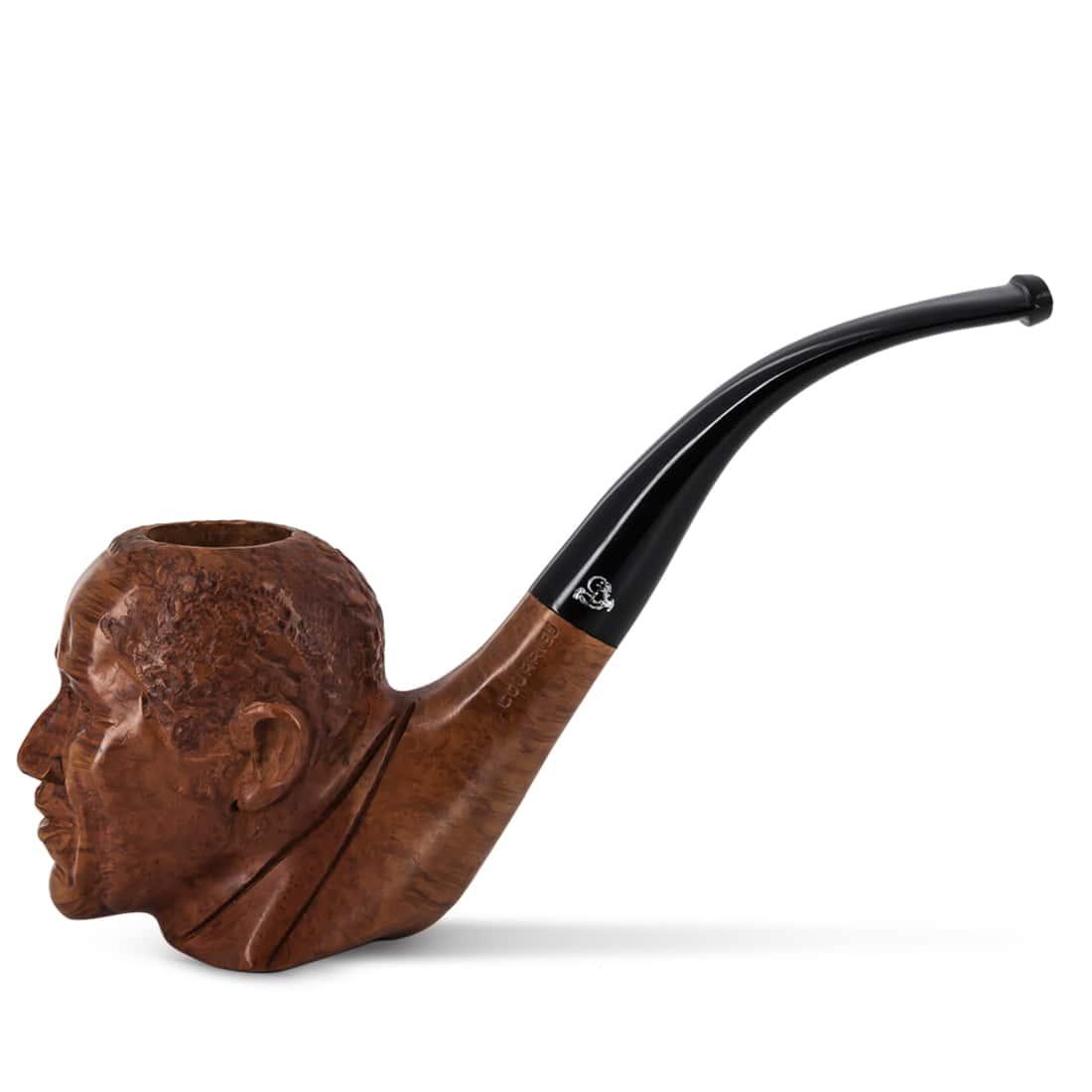 Photo de Pipe de Cogolin Sculptée Obama