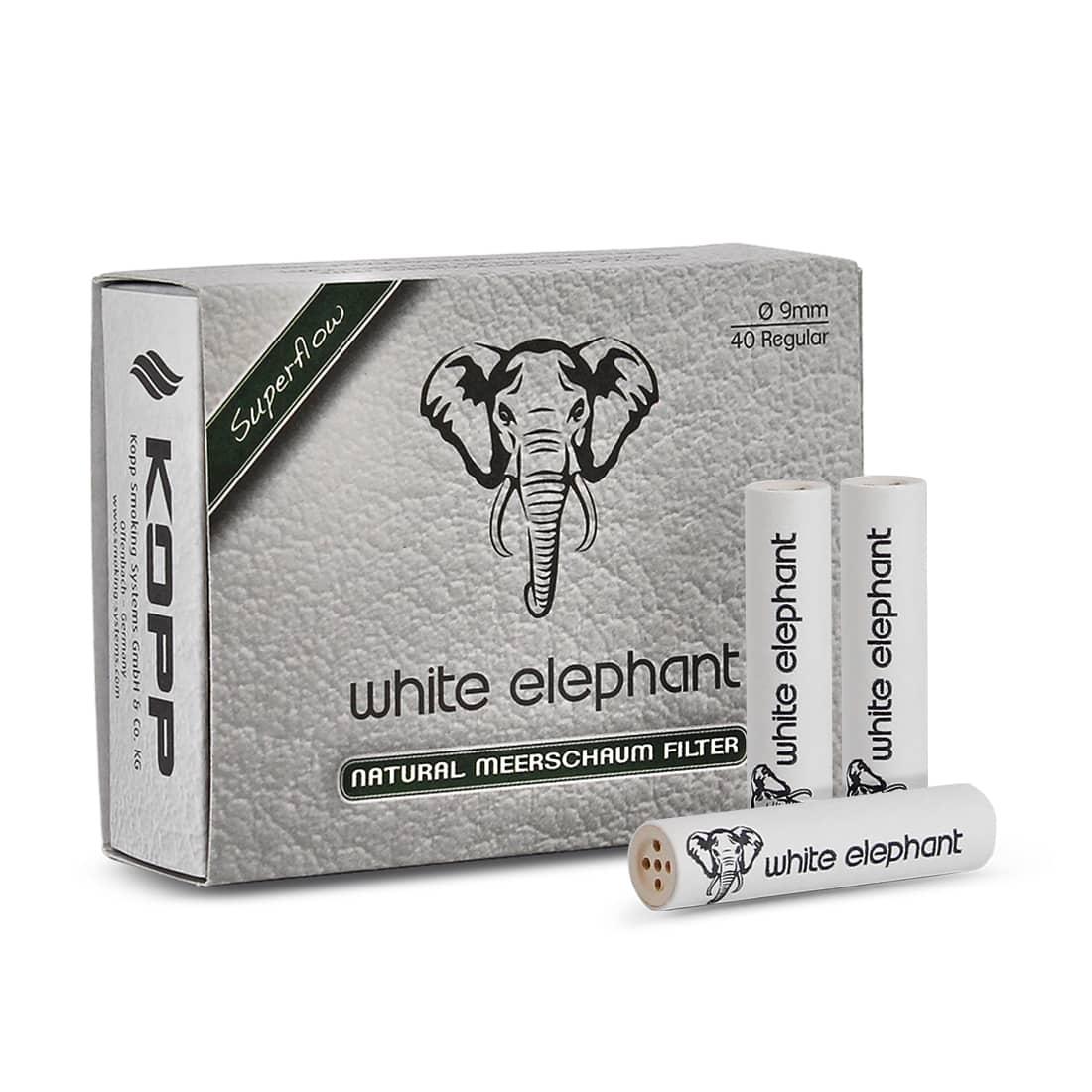 Photo de Filtres White Elephant 9 mm x 40