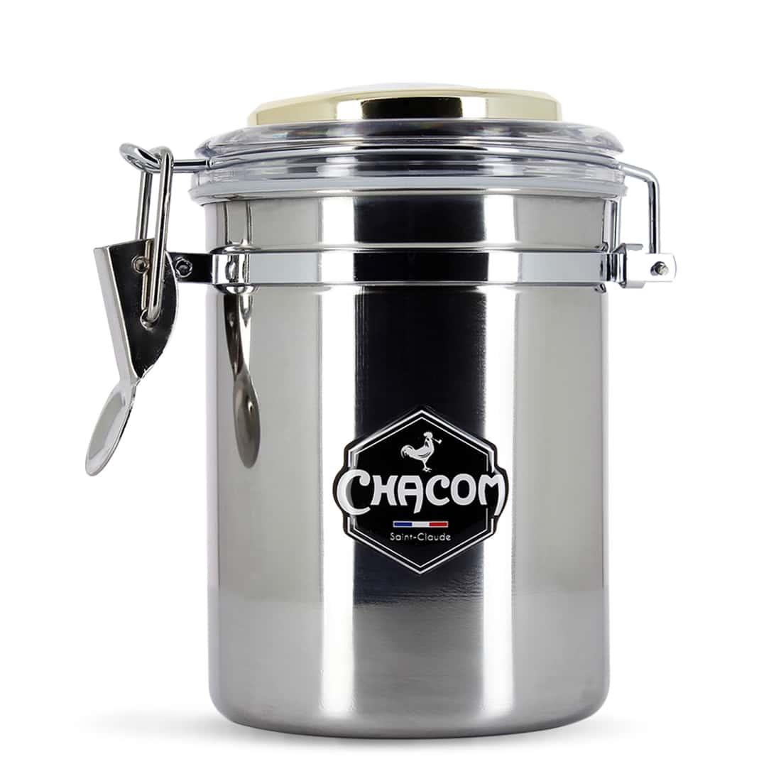 Photo de Pot à tabac Chacom Inox Grand Modèle
