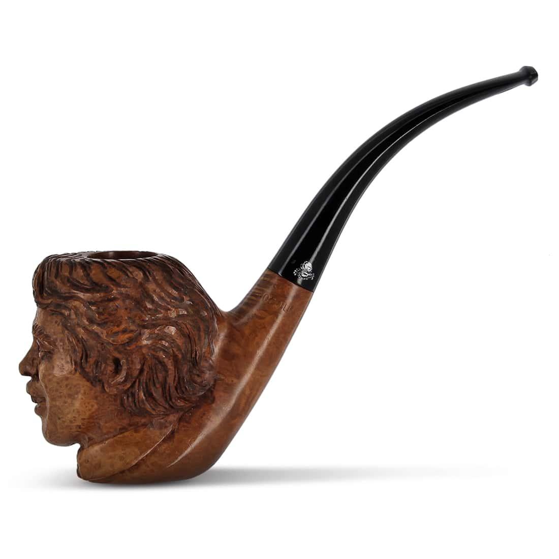 Photo de Pipe de Cogolin Sculptée Brel