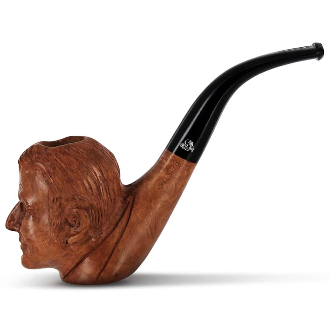 Photo de Pipe de Cogolin Sculptée Macron
