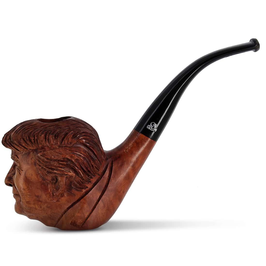 Photo de Pipe de Cogolin Sculptée Trump