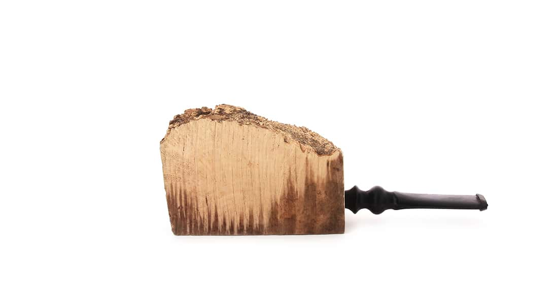 Photo de Pipe croute de bruyère droite