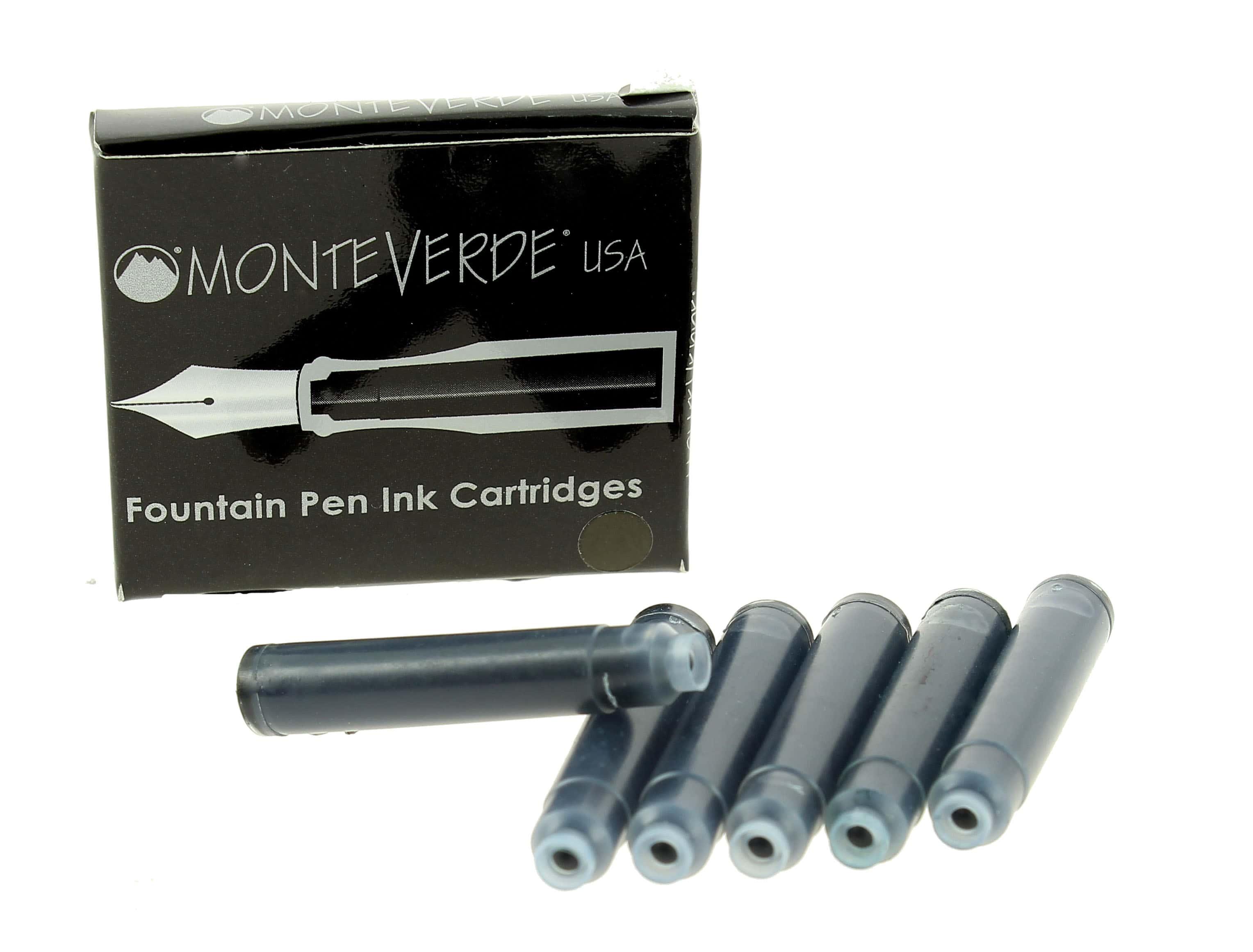 Photo de Recharge stylo plume Monteverde Noir