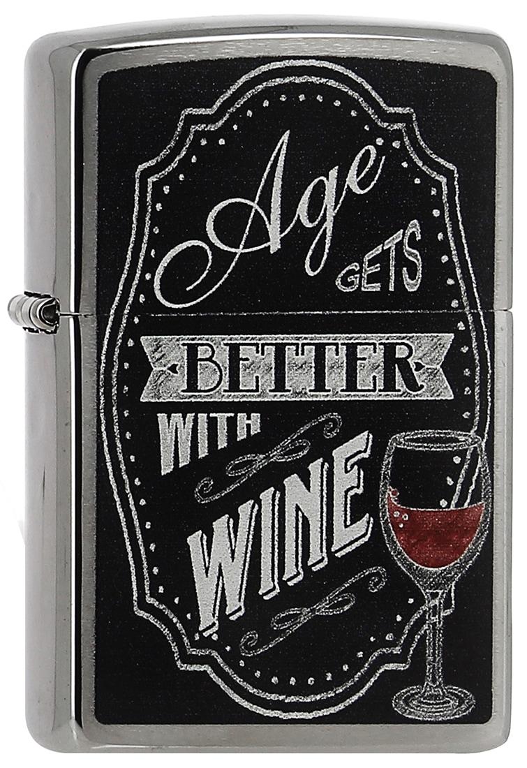 Photo de Zippo Better with Wine