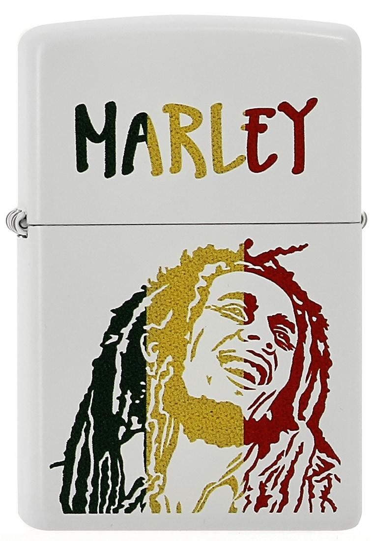 Photo de Zippo Blanc Bob Marley