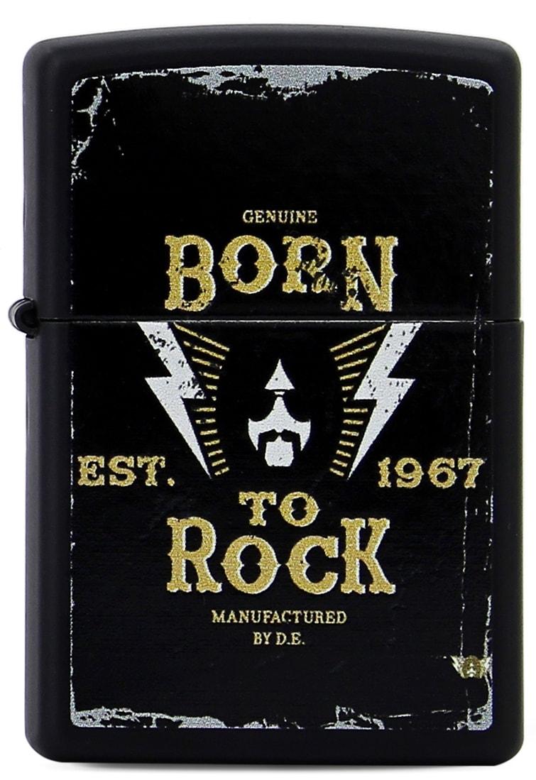 Photo de Zippo Born to Rock