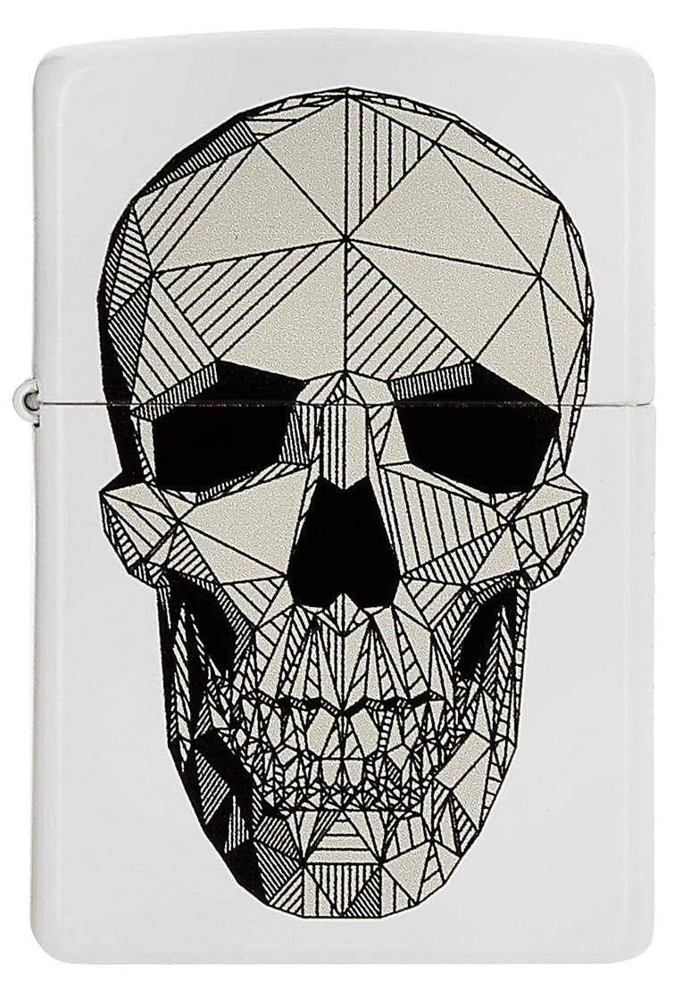 Photo de Zippo Geometric Skull