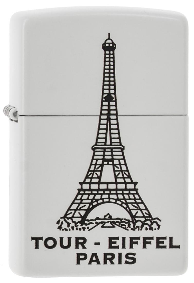 Photo de Zippo Tour Eiffel Blanc