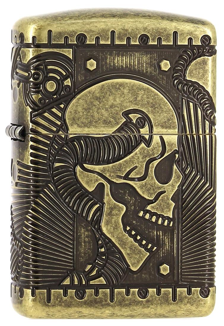 Photo de Zippo Antique Brass Steampunk