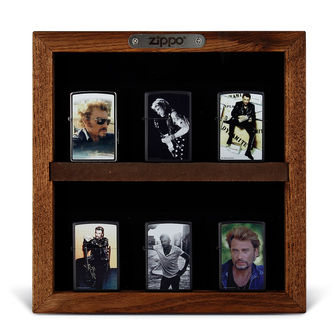 Photo de Pack Présentation Zippo Johnny Hallyday