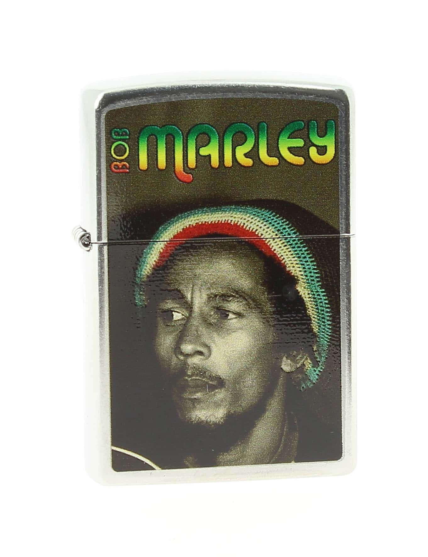Photo de Zippo Bob Marley Street Chromé