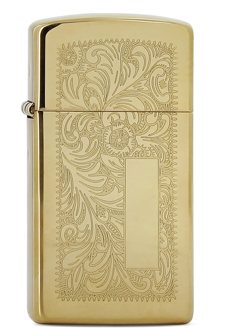 Photo de Zippo brass venetian petit modèle 851041