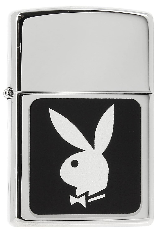Photo de Zippo Play Boy 88Z343 logo Noir et Blanc