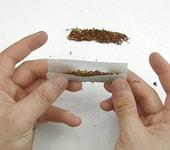Rouler une cigarette avec ou sans filtre