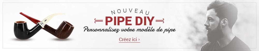 Pipe DIY - Personnalisez votre modèle de pipe
