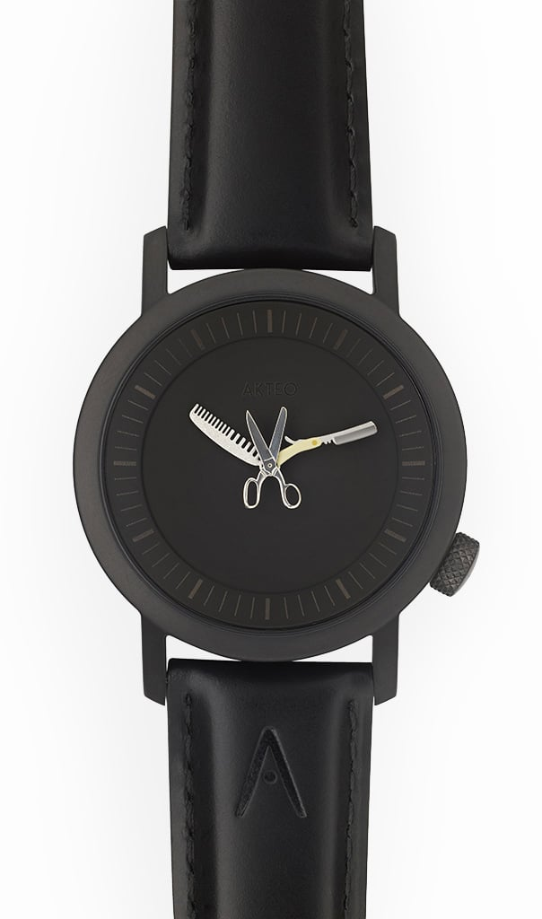 Photo #1 de Montre Akteo Coiffure Homme Black 42