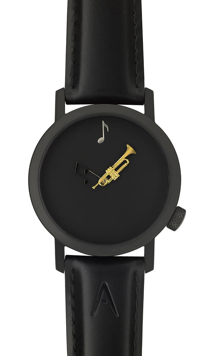 Photo #1 de Montre Akteo Trompette 42 Black