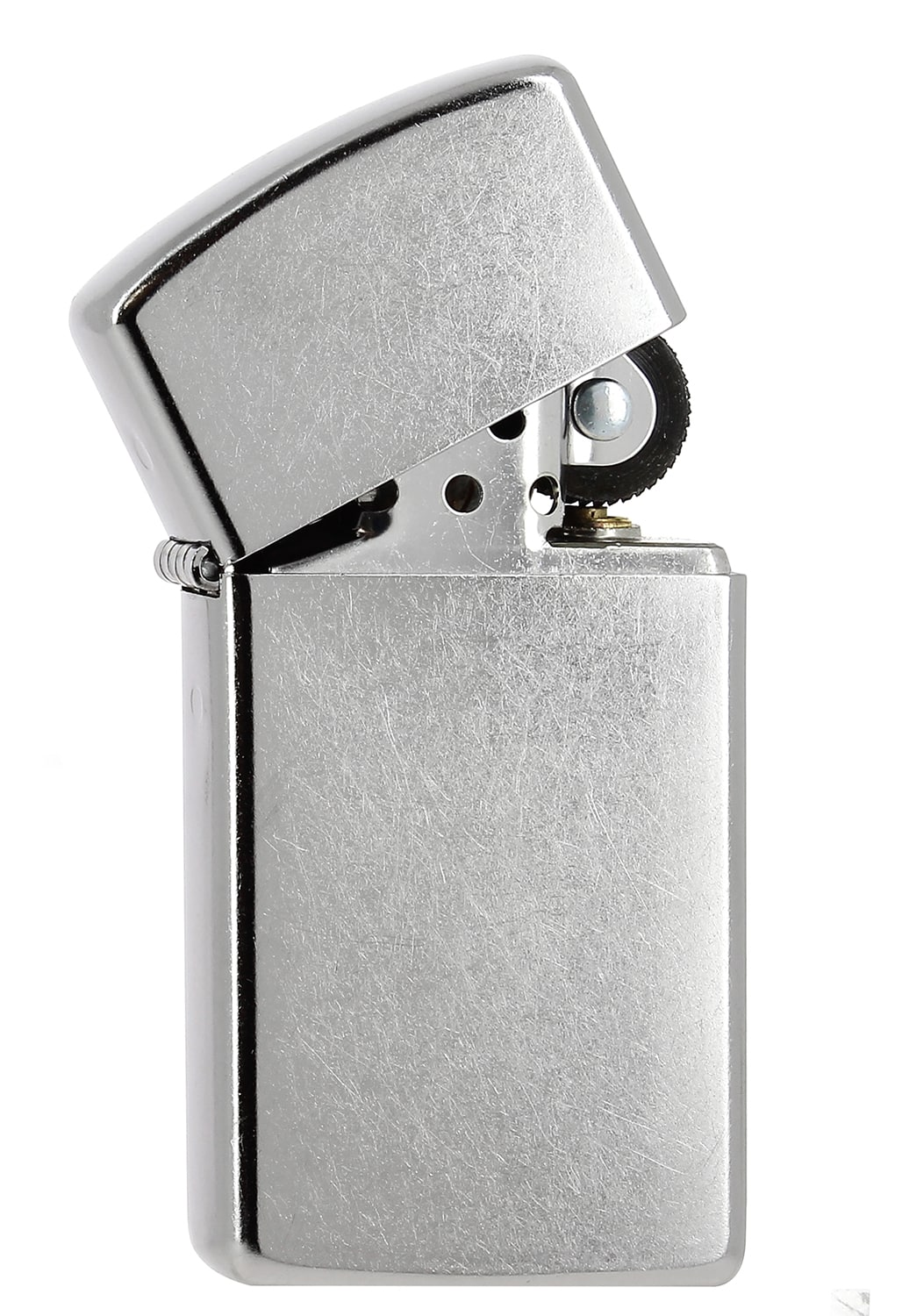 Photo #1 de Zippo regular street chrome slim 851142