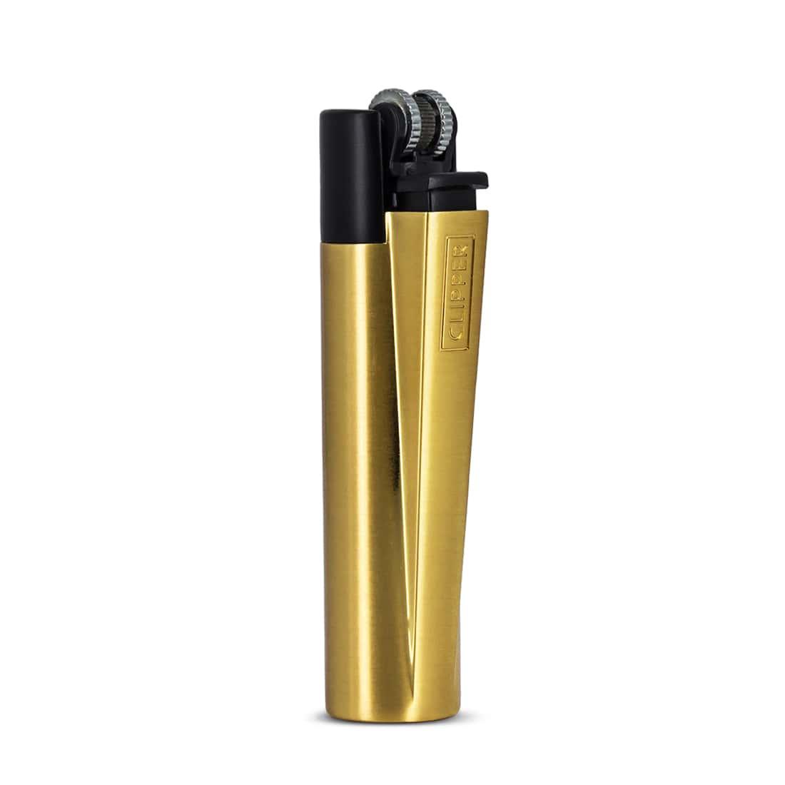 Photo #1 de Briquet Clipper Gold & Black