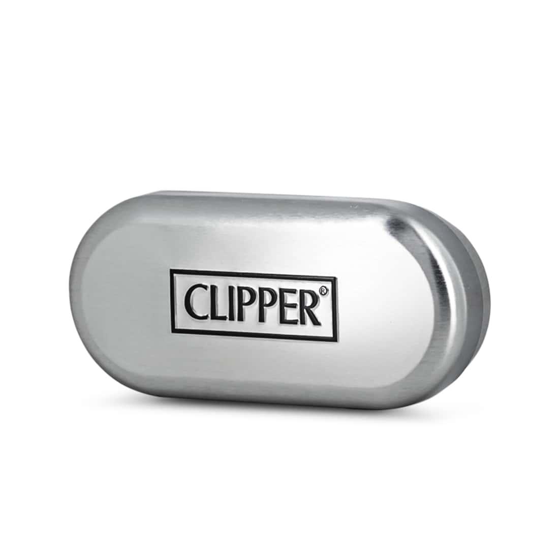 Photo #2 de Briquet Clipper Metal Carbon Chrome