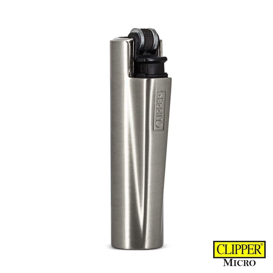Photo #2 de Briquet Clipper Micro Cover Métal USA