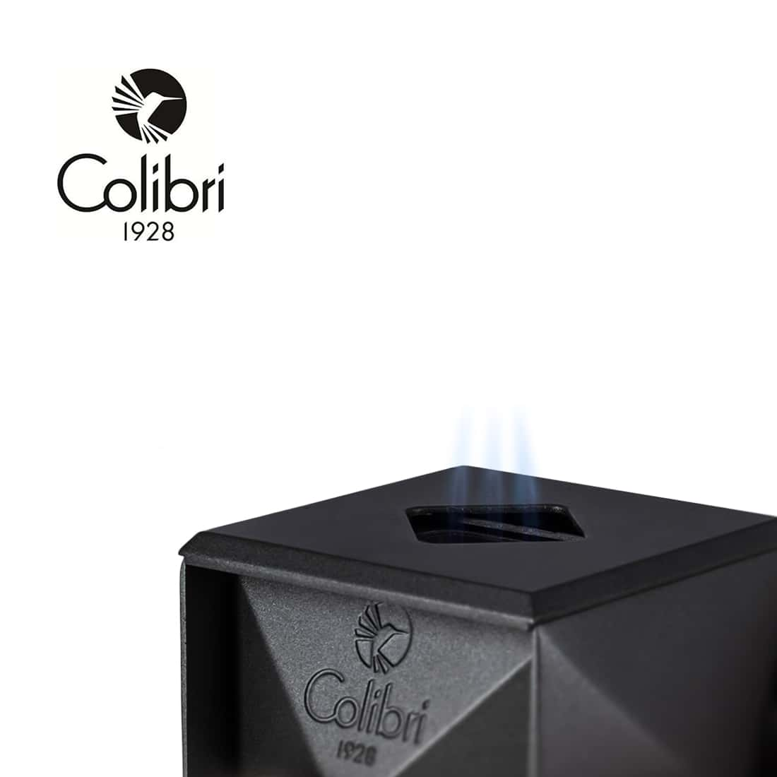 Photo #1 de Briquet de table Colibri Quasar Gun